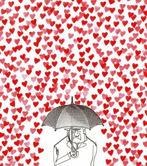 When is raining hearts, please bring your umbrella and be grumpy :)