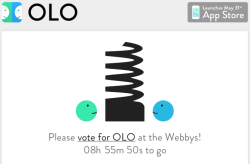 Victory of course! Please vote for OLO now! webbys:  Olo is counting down the minutes till the end of People's Voice but will the clock strike on victory or defeat? Find out on Tuesday, May 1st when we announce the winners!