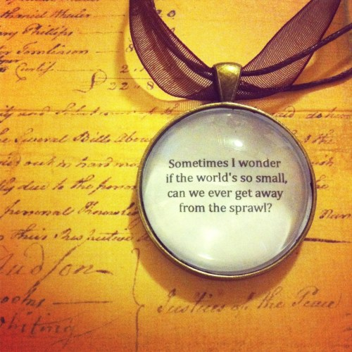 Arcade Fire Quote, If you would like one of these necklaces visit my Etsy page! http://www.etsy.com/shop/TheWordsINeverSaid Thank you! YOU CAN ALSO NOW FOLLOW ME ON TWITTER! & INSTAGRAM BOTH AT @LyricalPhrases get your daily dose of quotes here!