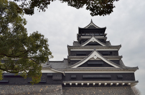 Kumamoto Castle by jpellgen on Flickr.