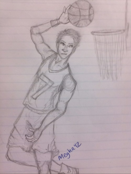 basketball playah art (c) megha