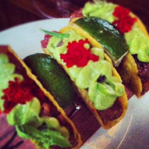 David Burke Tacos #nyc #igers #food (Taken with instagram)