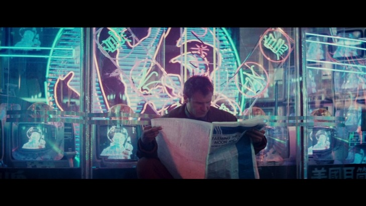 imjamesgreen:  In love with how beautifully shot Bladerunner was, apart from a few cgi issues it literally hasn't aged at all since the release, which is rare for sci fi!