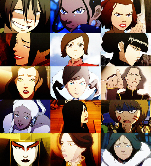 The ladies of ATLA & LOK