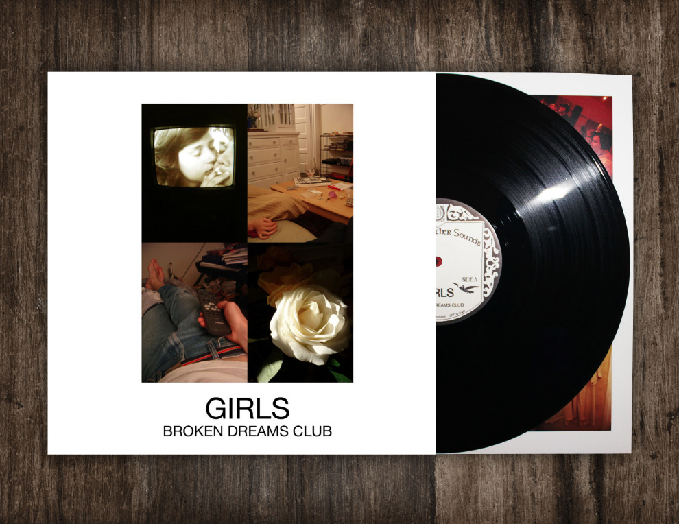 thewaxlot:  Girls - Broken Dreams Club EP 12""