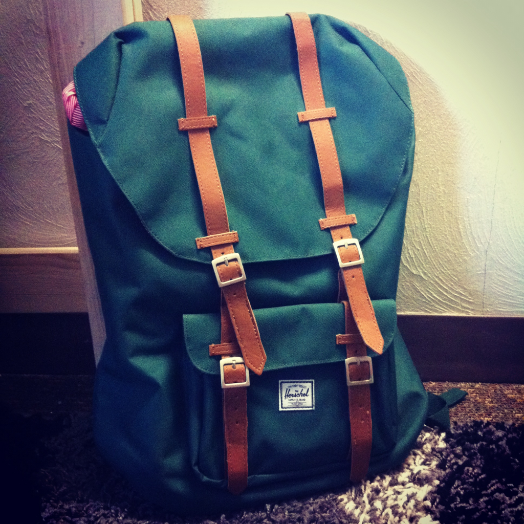 Herschel backpack.