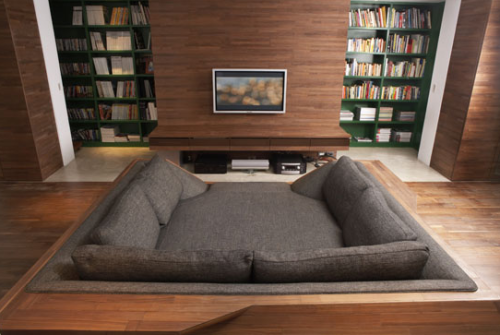 daltondecim8:  Oh man, I'd love this.  got that fancy couch but that tiny ass tv?