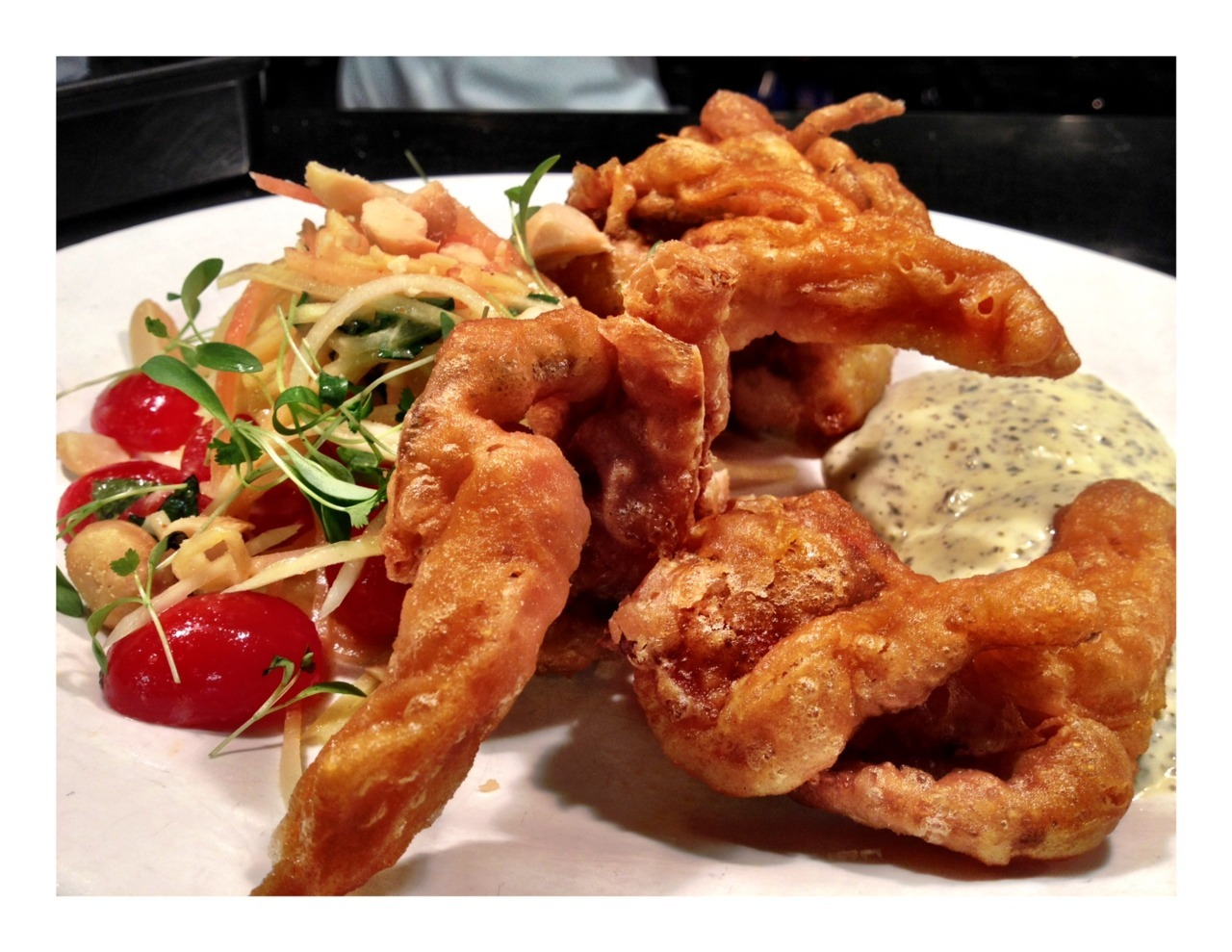 Crispy Soft Shell action tonight.