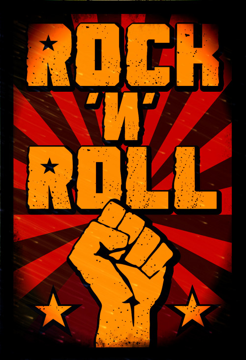Rock is The Law.