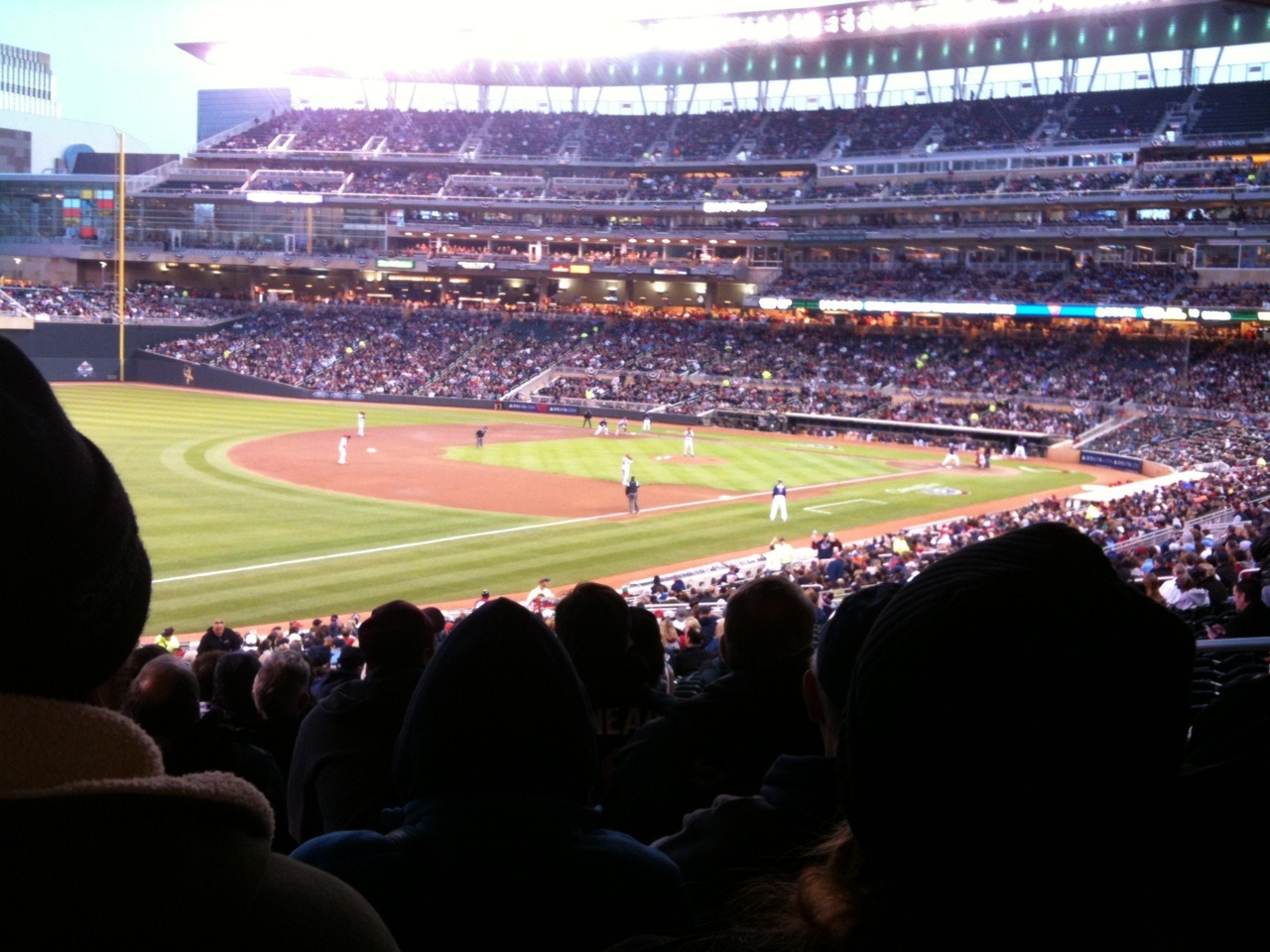 First Twins game of the 2012 season!