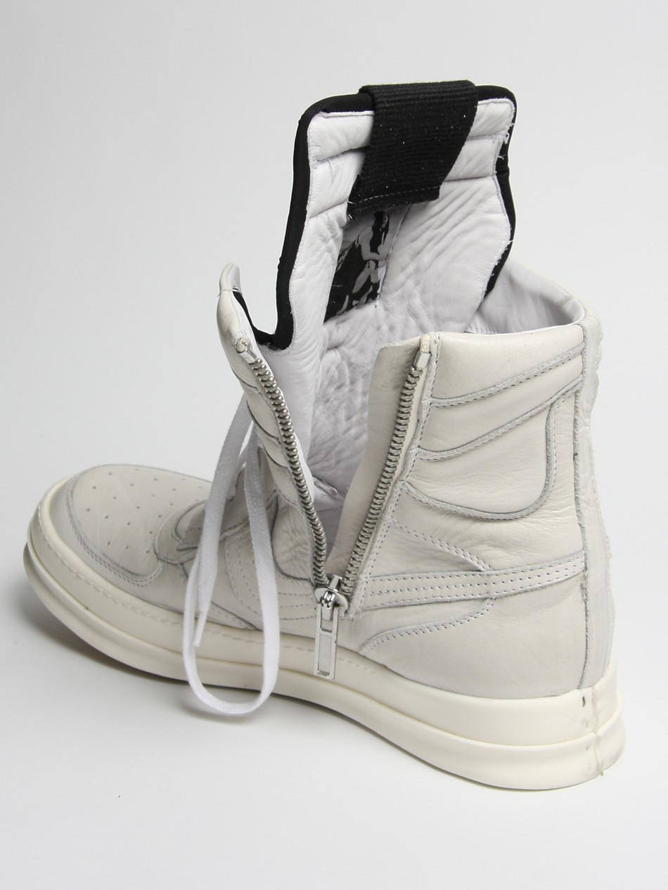 Rick Owens hi-top trainers