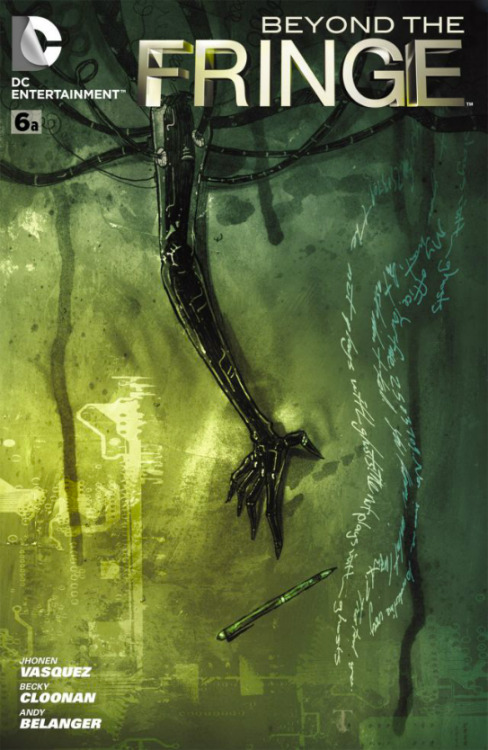 Check out Ben Templesmith's cover for the second half of my Beyond the Fringe story.  Nice, eh?  Ehhh?