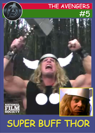 National Film Society's Top 5 Avengers Fan Videos! #5 - Super Buff Thor