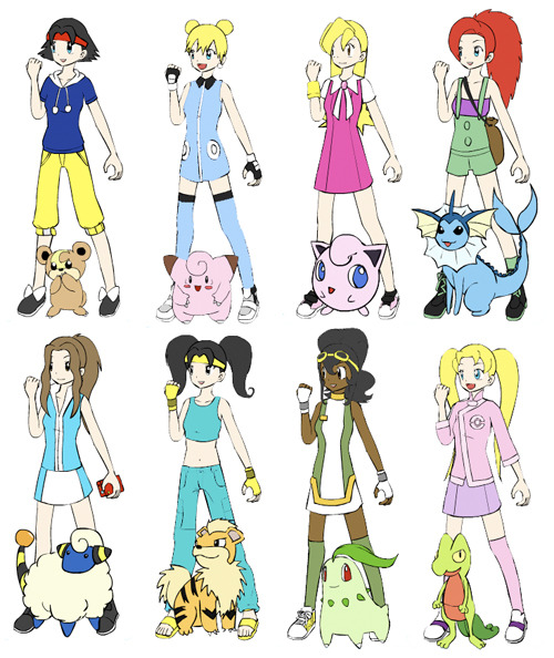 Pokemon Princess Trainers.