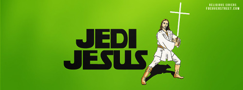Jedi Jesus Facebook Cover
