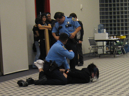 "diarrheaworldstarhiphop:  Police Crackdown on Otaku Party at Anime Boston Kicking, punching, pot, police ———————————————————————— Cops were called to the Back Bay Sheraton when a party for fans of Japanese anime got out of control on Easter morning and now the hotel management has been called before the Mayor's Office of Consumer Affairs and Licensing tomorrow.  Police reported ""dangerous"" overcrowding, pot possession, a passed-out partygoer and an assault at the fete for Anime Boston 2012 fans…April 8, cops showed up at a party at the Sheraton, where they reported removing a ""clearly disturbed"" 20-year-old male who'd been ""kicking and punching"" EMTs. Officers also confiscated less than an ounce of pot from two people and tended to an unconscious woman.  current jutsu status: wrecked"