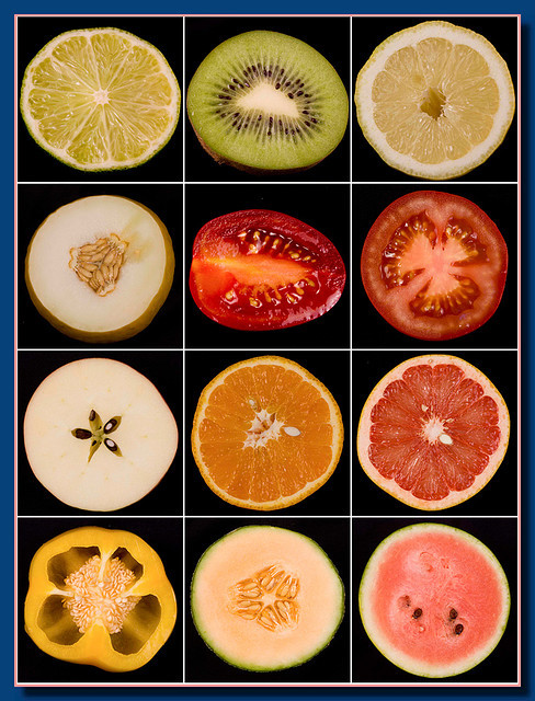 healthyfairytale:  Anatomy of fruit