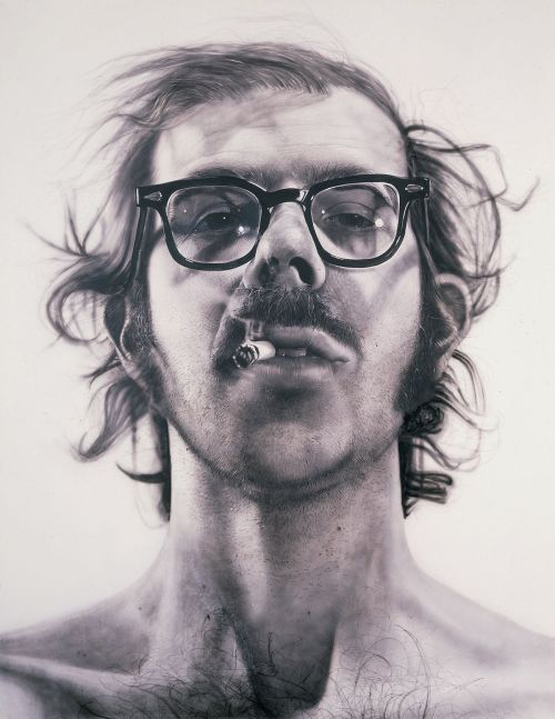 Big Self-Portrait Chuck Close 1967-68