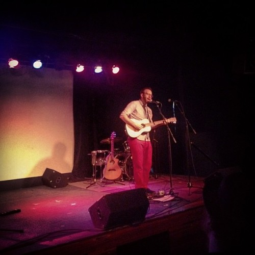 Mr. @MattSingerMusic at Littlefield for his album release. (Taken with Instagram at Littlefield)
