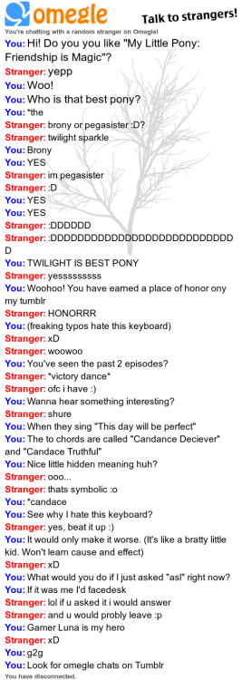 Best Omegle find EVAR