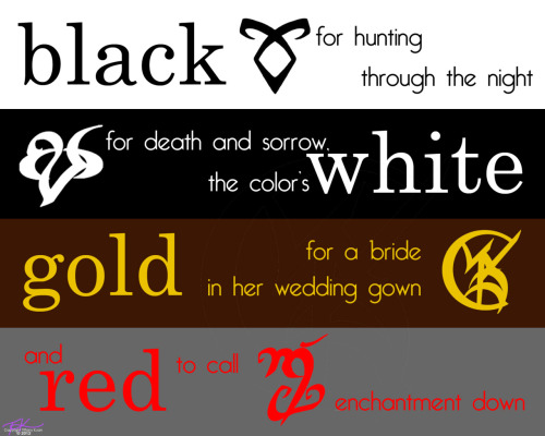 The Shadowhunter Rhyme that Ms. Cassie released just today. I just HAD to make this :)