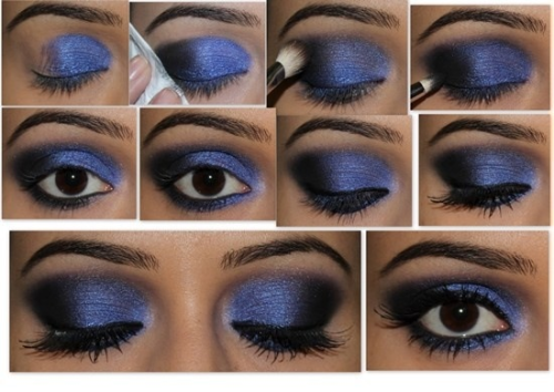 herreracrystal23:  Simple two color step by step eyeshadow tutorial.