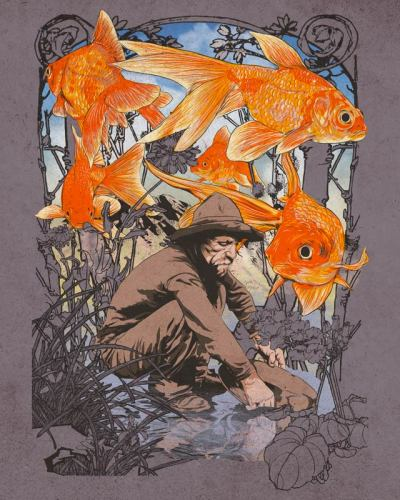 Gold Fish It's up for vote here :  http://www.threadless.com/submission/420183/Gold_Fish