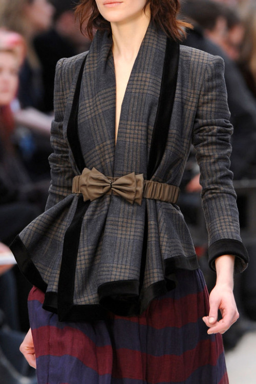 misguided-models:  Burberry Prorsum, Fall 2012