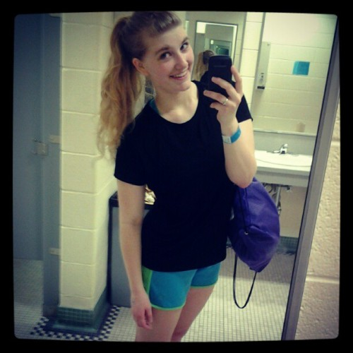 keswick-:  gooood looks. post-workout sweat! :) (Taken with instagram)  so this is me! as of a few days ago! i got such wonderful feedback from people! it was so lovely and encouraging!! :) :) i've got a long way to go, but i'm so proud of where i am now!! :D