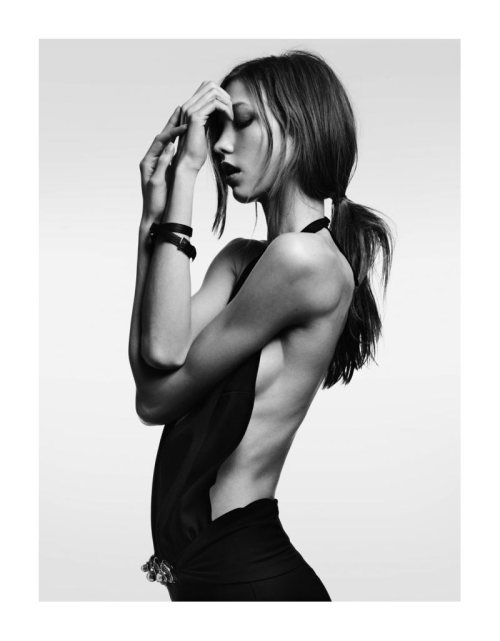 bondooroo:  Karlie Kloss by Hedi Slimane for Vogue Japan