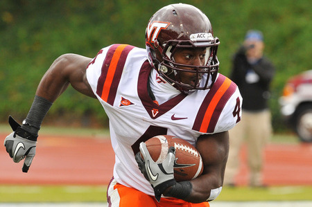 kingjames019:  Welcome to the Giants Running back David Wilson from Virginia Tech   This is great! It's like mock football season. ^_^ #SoReadyForSomeFootball