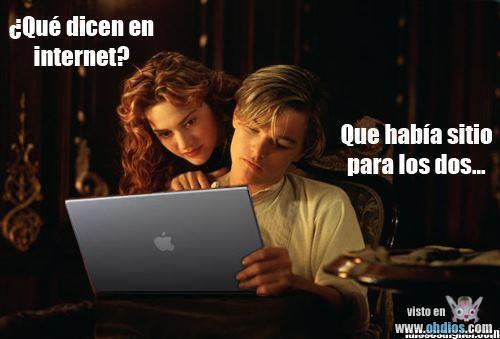 Pobre DiCaprio… …ha sucumbido a Apple…