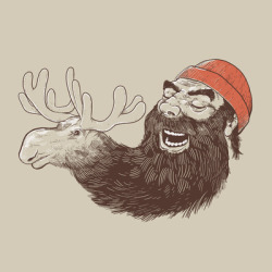 travisflashgordon:  Moose Beard