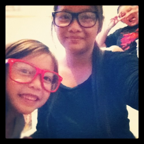 Sis! Nerd ! Ash,faustine,bhext (Taken with instagram)