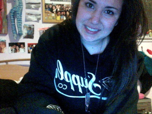 churro's sweatshirt <3
