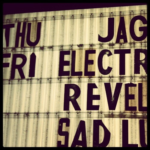 Ready to hear JAG. @gantobrien  (Taken with Instagram at The Nick)