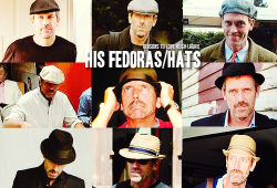 reasons-to-love-hugh-laurie:  Reason 118: His fedoras/hats.
