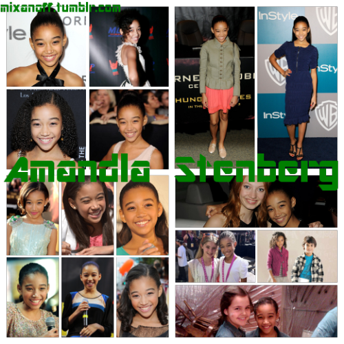 Hunger Games Edit Challenge Day 2: Amandla Stenberg