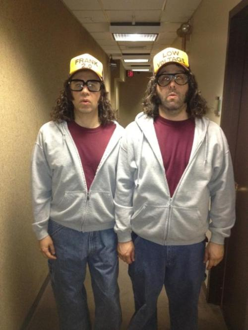 "@JudahWorldChamp: ""Me with Fred Armisen backstage at @nbc30rock"""