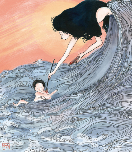 (via Jillian Tamaki Sketchblog)