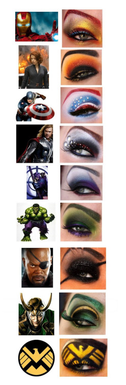 awesome avengers inspired
