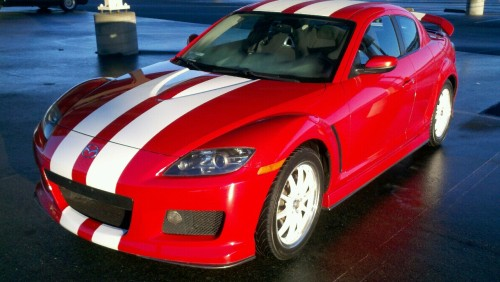 """My 2005 Mazda RX8"" Submitted by: phil-rundall This is their pride and joy. The car they drive. If you like it, give this picture a like so they know it. And go check out their blog and give them a follow! Also, if you want to submit your car, you can do so here: http://whipsandchicks.tumblr.com/submit To view more submissions by tumblr-er's: http://whipsandchicks.tumblr.com/tagged/ourcars"