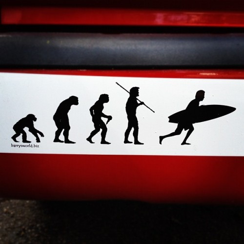 #evolution #surfing #surf #powerful  #funny  (Taken with instagram)