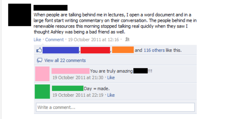 idiotsonfb:  now that's one way to shut them up.