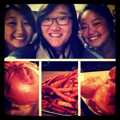 Umami burger with Sally & Susan.  (Taken with instagram)