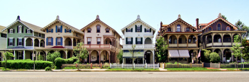 Stockton Cottages in Cape May, New Jersey.