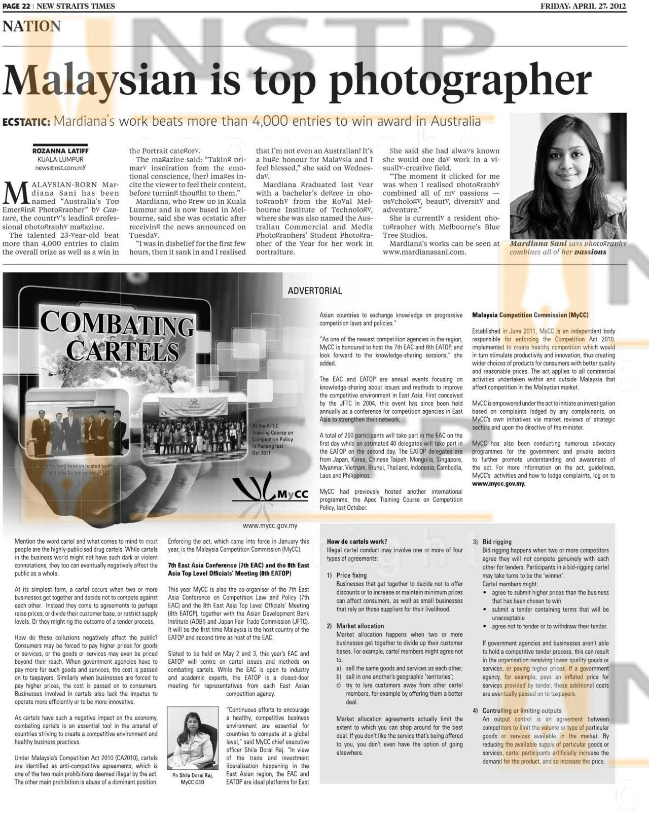 mardianasani:  A clearer version of me in the papers!