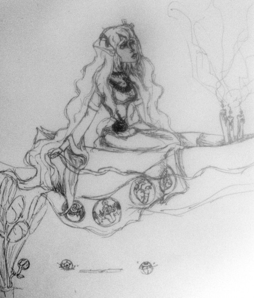 Lady Of Shalott Zen Wip by *ChrisGurl A possible project set I'm starting, of those at Hiems. Imma take my sweet time but here's a WIP 8D