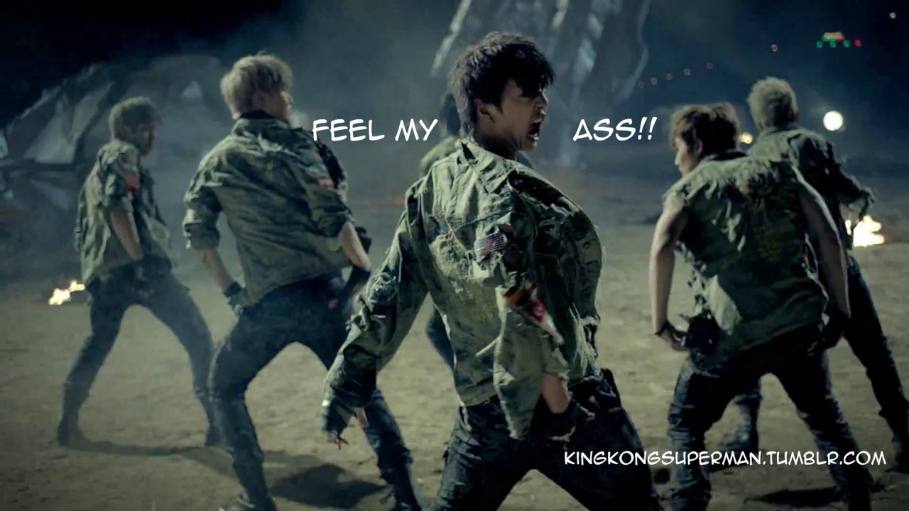 Yongguk is asking for it.