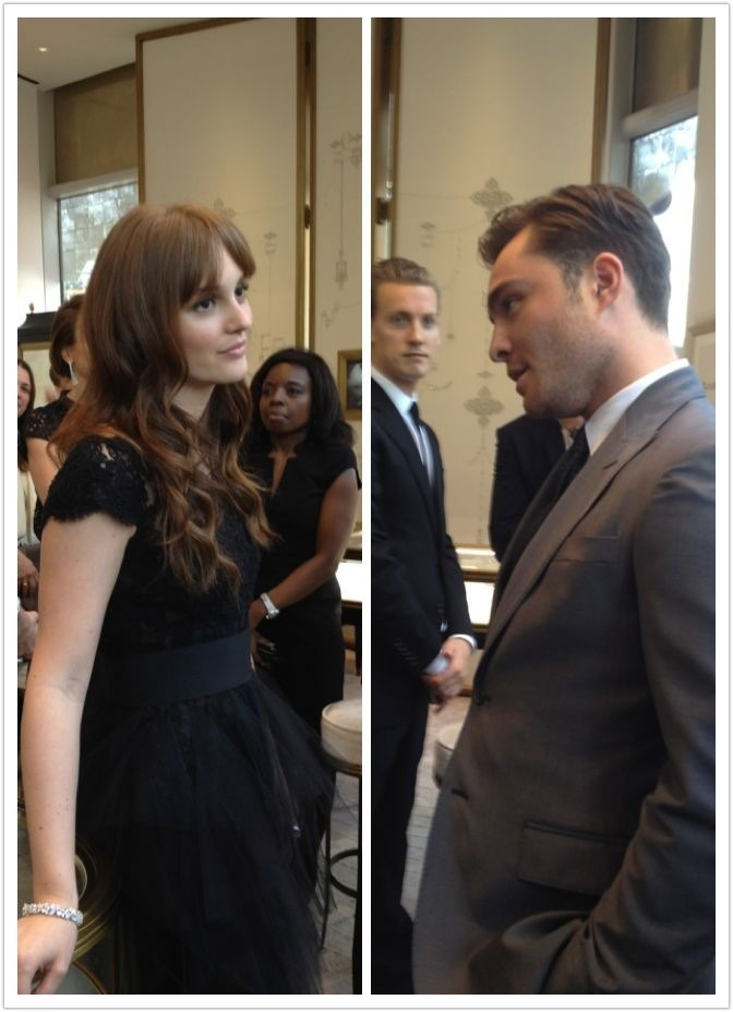 uachuckblair:  Ed and Leighton (April 27th 2012) Harry Winston Store Opening Shanghai // more!